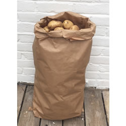 Small Image of 100 x Nutley's 25kg Paper Potato Sacks Harvest Store Vegetables
