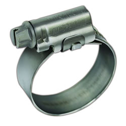 "Small Image of Stainless Steel Hose Clips 25mm (1"")"