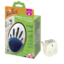 Small Image of STV - Insect Direct Plug-In Insect Killer with 2 Pin Travel Adaptor