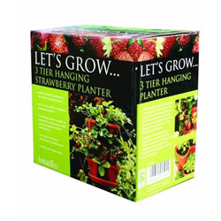 Botanico Hanging Strawberry Planter