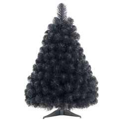Small Image of Tree Classics 60cm Black Artificial Christmas Table Tree (24-72-308)