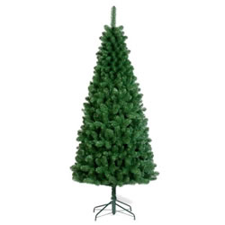 Small Image of Tree Classics 1.8m (6ft) Green Slim Artificial Christmas Tree (72-497-970)