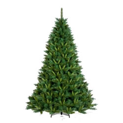 Small Image of Tree Classics 2.1m (7ft) Green Rockwood Pine Artificial Christmas Tree (84-1154-560)