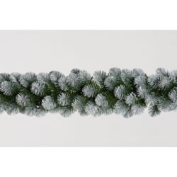 Small Image of Tree Classics 2.7m x 30cm Green Frosted Alaskan Garland (912-210-850F)