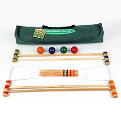 Small Image of Traditional Garden Games Junior Croquet Set (003)