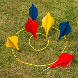 Small Image of Traditional Garden Games Lawn Darts (014)