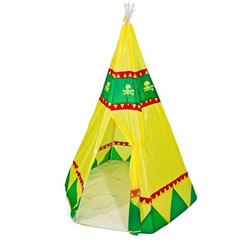 Small Image of Traditional Garden Games Tee Pee Play Tent (068)