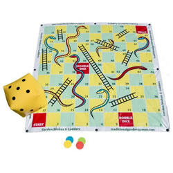 Small Image of Traditional Garden Games Snakes and Ladders 2m (115)