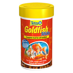 Small Image of Tetra Goldfish Sticks 93g