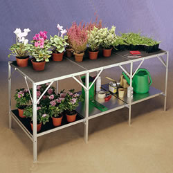 Small Image of Greenhouse Benching Two Tier 59cm long x 64cm wide