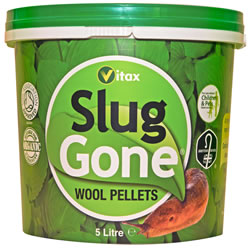 Small Image of Slug Gone Organic Wool Pellets Natural Organic 5 litres