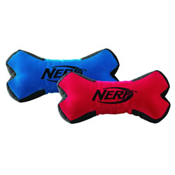 Small Image of Nerf Dog Trackshot Squeaker Bone 20cm