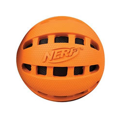 Small Image of Nerf Dog Checker Crunchable Ball 10cm