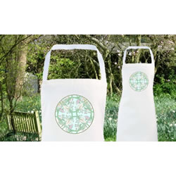 Small Image of Vintage Flowers Apron