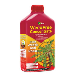 Small Image of Vitax WeedFree Glyphosate Concentrate Kills Weeds and Roots 1 Litre