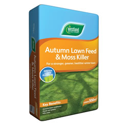 Westland Autumn Lawn Feed & Moskiller 500m2 Bag