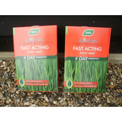 Small Image of Box of Westland Fast Acting Sirestart Lawn grass Seed - 90 sqm