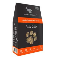 Small Image of Billy & Margot Apple, Banana & Carrot Biscuits 125g