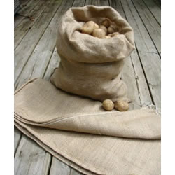 Small Image of 5 Extra Large Hessian Potato Sacks 66 x 115cm