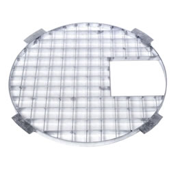 Small Image of Apollo Round Galvanised Steel Grid 60cm Dia