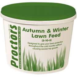 Small Image of 5kg tub of New Proctors Autumn and Winter lawn grass feed for 285 sqm
