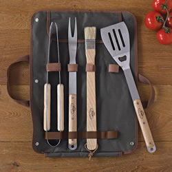 Small Image of Barbecue Tool Set with Carry Case