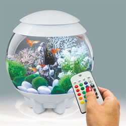 Small Image of BiOrb HALO 15 Aquarium with MCR - White