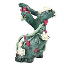 Small Image of BiOrb Samuel Baker Frozen Branch with Flowers Sculpture