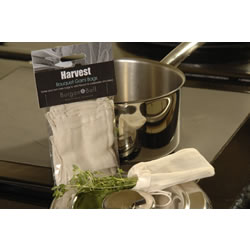 Small Image of 4 Burgon & Ball Bouquet Garni Bags: Make Your Own Herb & Spice Infuser Bags