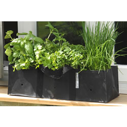 Small Image of 2 Burgon & Ball Window Box Windowsill Planter Bags Growbags: Ideal for herbs