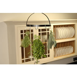 Small Image of Burgon & Ball Herb Harvest Drying Rack + Hooks