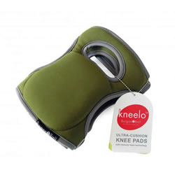 Small Image of Brand New Garden Knee Pads - Moss