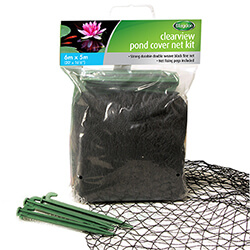 Small Image of Blagdon Cover Net Black 6x5m