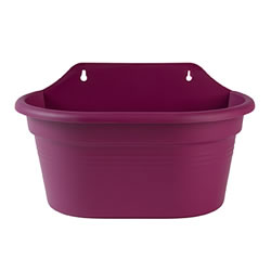 Small Image of Elho Wall Basket Pot 30cm - Pink
