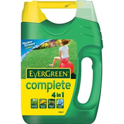 EverGreen Complete 100 sq m Lawn Food, Weed and Moss Killer Spreader
