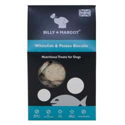 Small Image of Billy & Margot White Fish & Potato Treats 100g