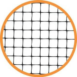 Small Image of 15m x 2m wide Tough Fleximesh Bird Fruit Cage Netting  Mesh size 17mm.