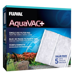 Small Image of Fluval AquaVac+ Replacement Fine Filter Pads