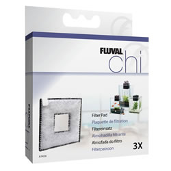 Small Image of Fluval Chi 19/25L Filter Pad 3pk
