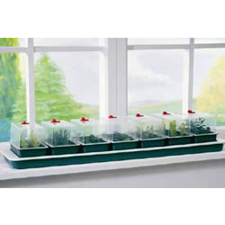 Small Image of Garland Super 7 Self-Watering Windowsill Seed Propagator