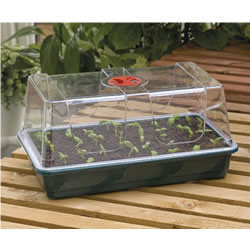 Small Image of Garland Large, Full-Sized High-Dome Seed Propagator with Vented Lid
