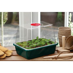 Small Image of 3 x Garland Small High-Dome Half-Size Seed Propagators