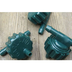 Small Image of 3 x Extra Spare Dripper Nozzles for Garland Big Drippa Greenhouse Watering Kit