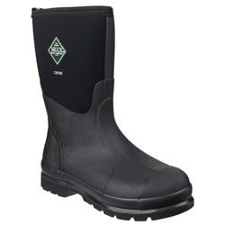 Small Image of Muck Boot - Chore Classic Mid - Black - UK Size 10