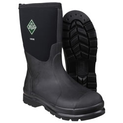 Extra image of Muck Boot - Chore Classic Mid - Black - UK Size 10