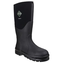 Small Image of Muck Boot - Chore Classic Hi Steel Cap - Black