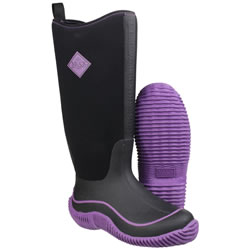 Extra image of Muck Boot - Womens Hale -Purple/Black UK 8