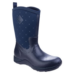 Small Image of Muck Boot - Arctic Weekend - Navy Prints - UK 9
