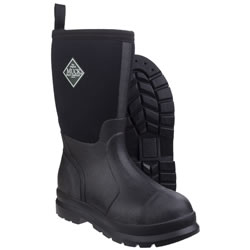 Extra image of Muck Boot - Kids' Chore - Black