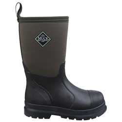 Extra image of Muck Boot - Kids' Chore - Black - UK Size 3